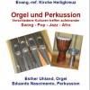 Orgel und Perkussion
